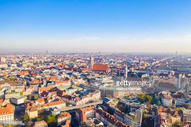 münchen city - münchen stock-fotos und bilder