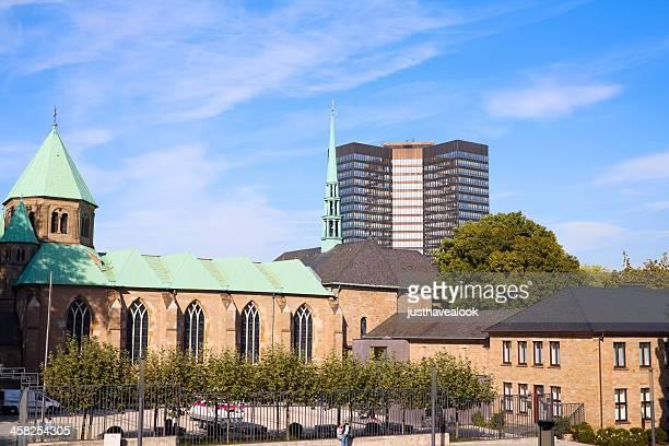 münster、タウンホールの位置 - エッセン ストックフォトと画像