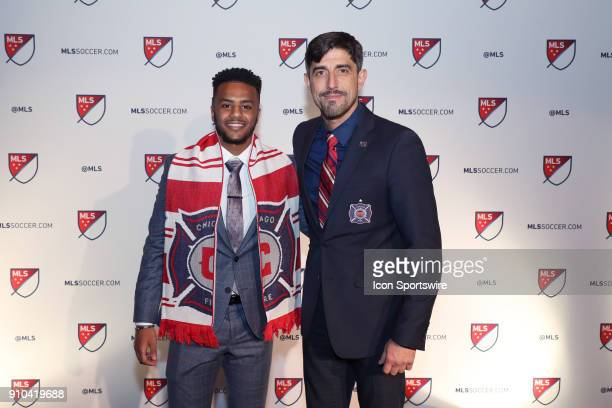 Mo Adams was taken with the tenth overall pick by Chicago Fire with head coach Veljko Paunovic during the MLS SuperDraft 2018 on January 19 at the...
