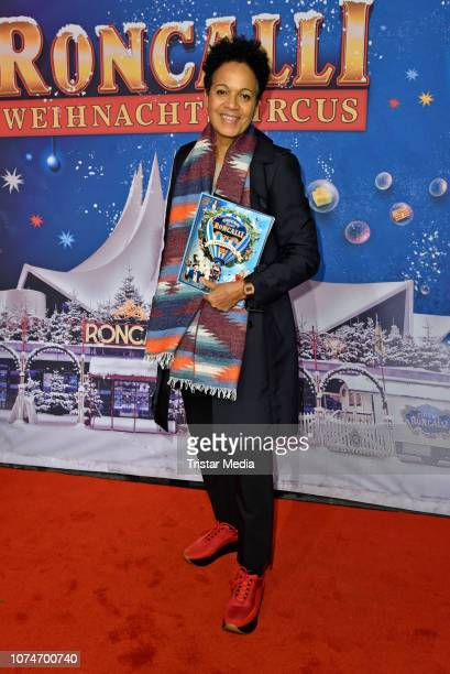 Mo Asumang attends the 15th Roncalli christmas circus premiere at Tempodrom on December 22 2018 in Berlin Germany