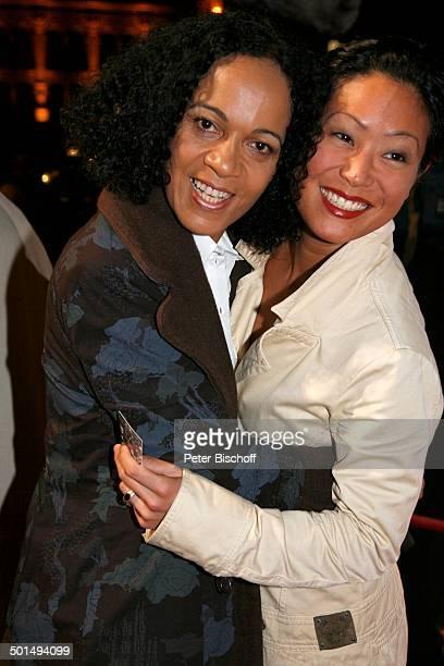 Mo Asumang Gast Gala Verleihung Hessischer Film und Kinopreis 2007 Frankfurt Hessen Deutschland Europa Frankfurter Alte Oper Filmpreis Auszeichnung...