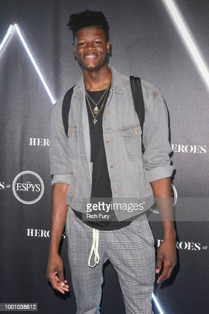 Mo Bamba attends Heroes at the ESPYS at City Market Social House on July 17 2018 in Los Angeles California