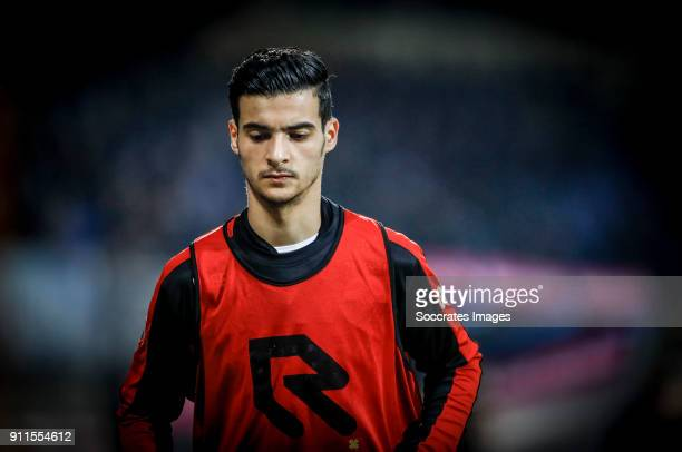 Mo El Hankouri of Willem II during the record of 92 minutes of warming up during the Dutch Eredivisie match between Willem II v AZ Alkmaar at the...