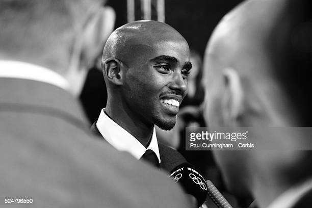 Mo Farah arrives at the Excel Centre in London for the BBC Sports Personality of the Year Awards 2012 , London. 16 December 2012 June 2012 --- Image...