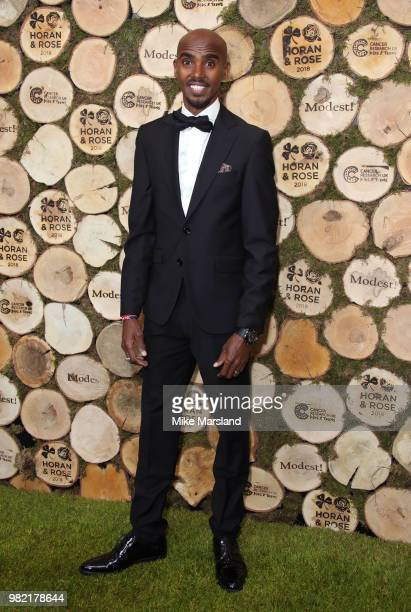 Mo Farah attends the Horan And Rose Charity Event held at The Grove on June 23 2018 in Watford England