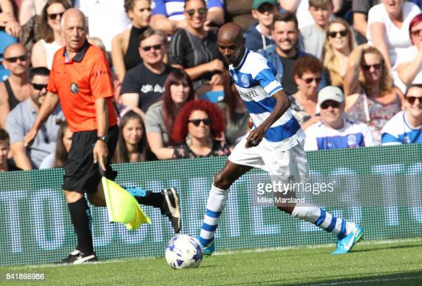 Mo Farah during the #GAME4GRENFELL at Loftus Road on September 2 2017 in London England The charity football match has been set up to benefit those...