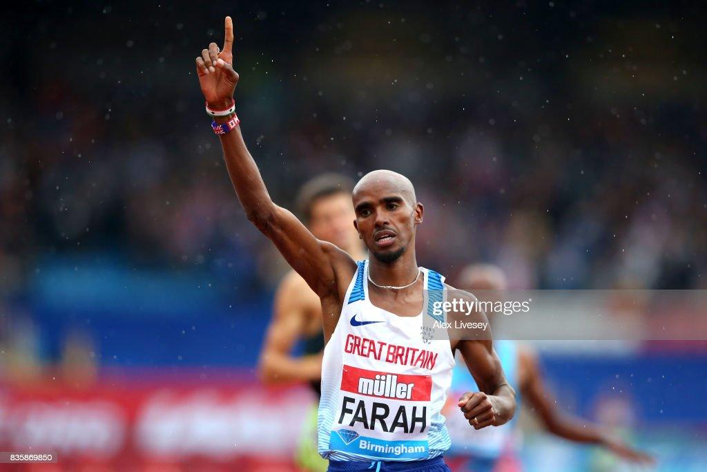Muller Grand Prix Birmingham - IAAF Diamond League 2017 : News Photo