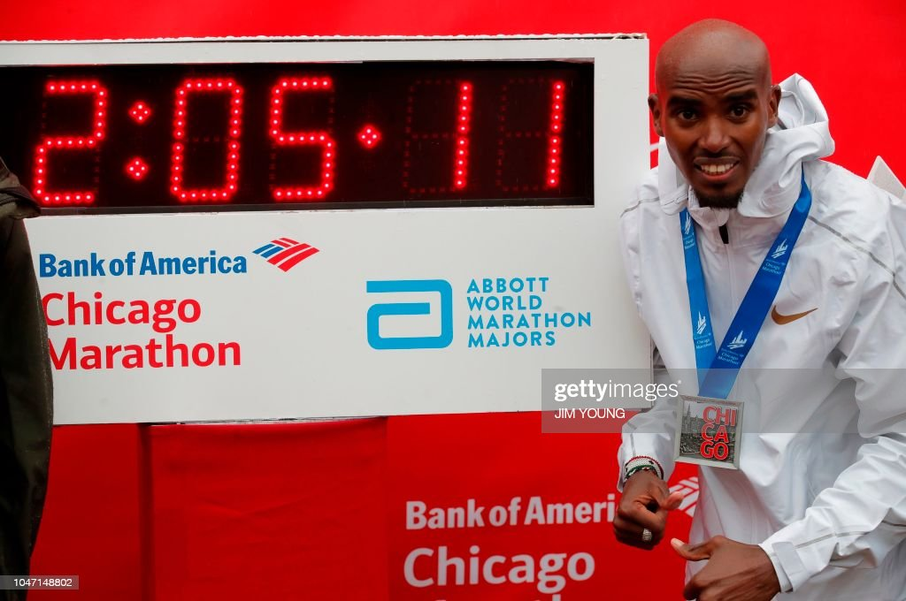 ATHLETICS-MARATHON-USA-CHICAGO : News Photo