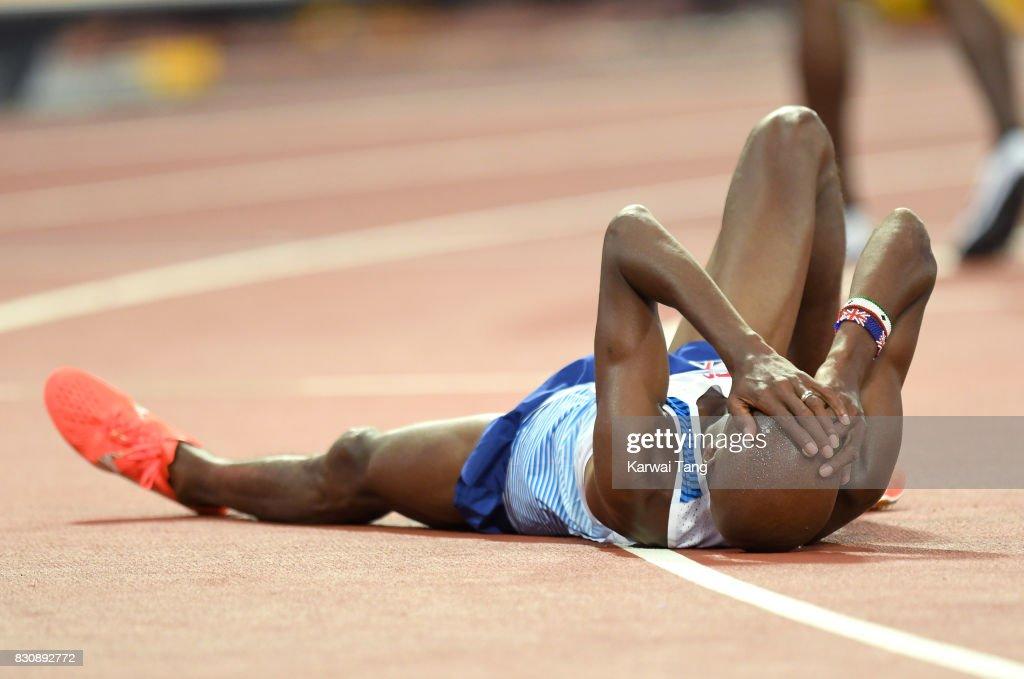 VIP's Attend The IAAF World Athletics Championships : ニュース写真