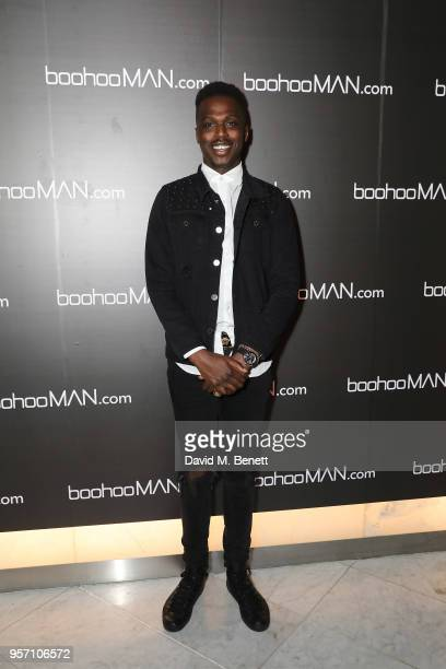 Mo Jamil attends boohooMAN by Dele Alli Launch at Radio Rooftop on May 10 2018 in London England