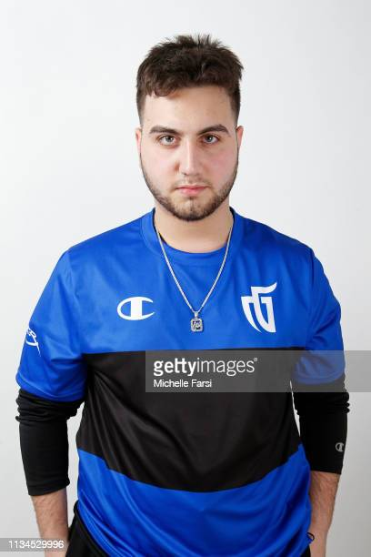 Mo of Mavs Gaming poses for a head shot during the NBA 2K League media day on April 2 2019 at the NBA 2K Studio in Long Island City New York NOTE TO...