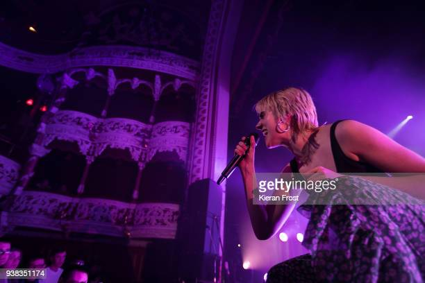 Mo performs live at the Olympia Theatre on March 26 2018 in Dublin Ireland