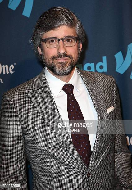 Mo Rocca attending the 24th Annual GLAAD Media Awards at the Marriott Marquis Hotel in New York City on 3/16/2013