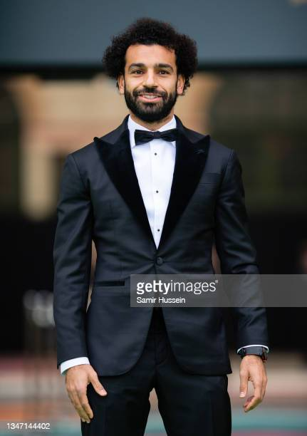 Mo Salah attends the Earthshot Prize 2021 at Alexandra Palace on October 17, 2021 in London, England.