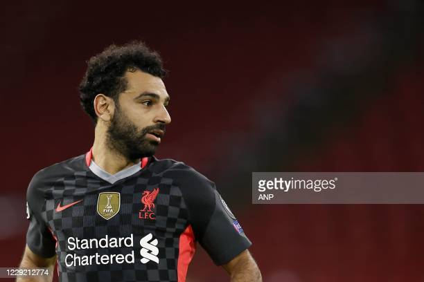 AMSTERDAM Mo Salah of Liverpool FC during the UEFA Champions League match in group D between Ajax Amsterdam and Liverpool FC at the Johan Cruijff...