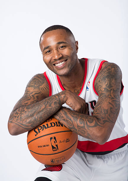 Mo Williams of the Portland Trail Blazers NBA Media Day