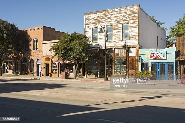 moab street scene - moab utah stock pictures, royalty-free photos & images