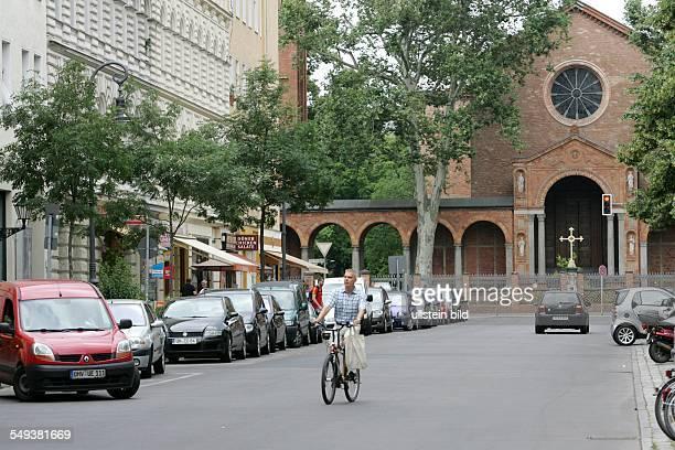 Moabit Kirchstrasse Kirche der evangelischen Kirchgemeinde St Johannis