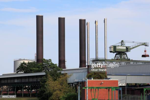 Moabit power plant, cogeneration plant, Moabit, Mitte district, Berlin, Germany