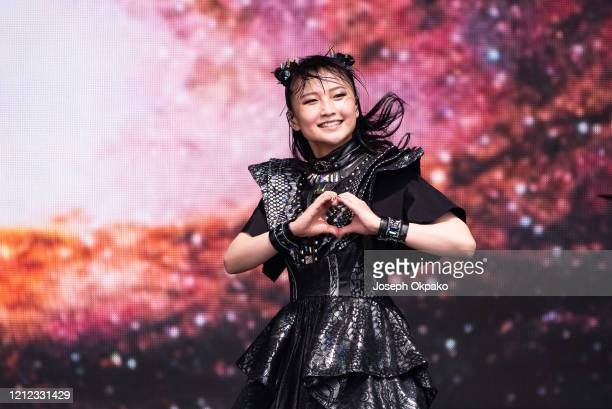 Moametal of Babymetal performs at The Other Stage during day five of Glastonbury Festival at Worthy Farm Pilton on June 30 2019 in Glastonbury England