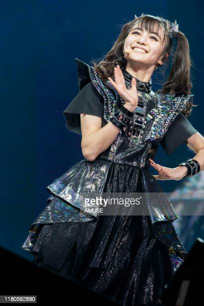 Moametal of BABYMETAL performs during the 'METAL GALAXY WORLD TOUR LIVE' at The Forum on October 11 2019 in Inglewood California