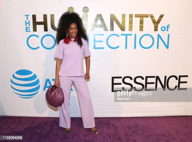 MoAna Luu attends ESSENCE ATT Humanity Of Connection event at New York Historical Society on June 10 2019 in New York City