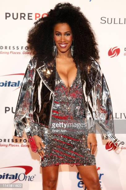 Moana Luu attends the 2019 Dress For Success Live Vibrantly Gala at Cipriani Wall Street on April 10 2019 in New York City