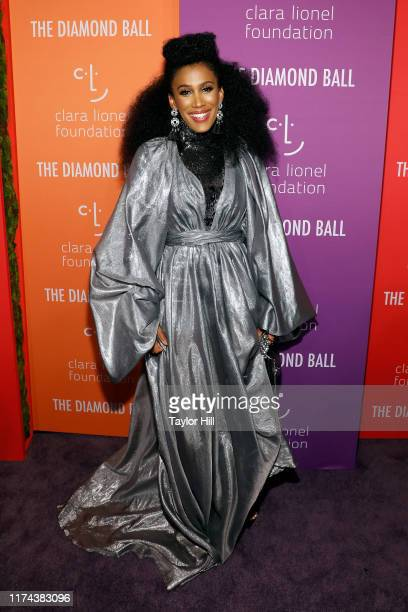 MoAnA Luu attends the 5th Annual Diamond Ball benefiting the Clara Lionel Foundation at Cipriani Wall Street on September 12 2019 in New York City