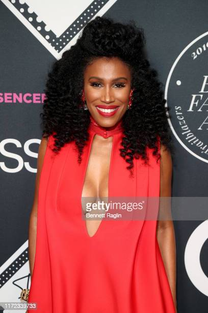 Moana Luu attends the ESSENCE Best In Black Fashion Awards at Affirmation Arts on September 04 2019 in New York City