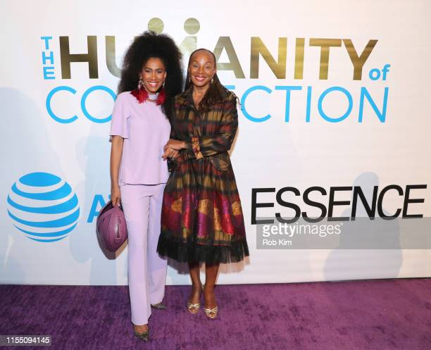 MoAna Luu Susan L Taylor attend ESSENCE ATT Humanity Of Connection event at New York Historical Society on June 10 2019 in New York City