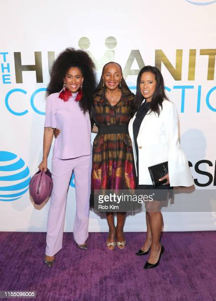 MoAna Luu Susan L Taylor Michelle Ebanks attend ESSENCE ATT Humanity Of Connection event at New York Historical Society on June 10 2019 in New York...