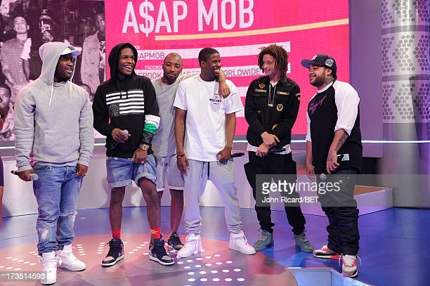 Mob at BET's 106 Park at BET Studios on July 15 2013 in New York City