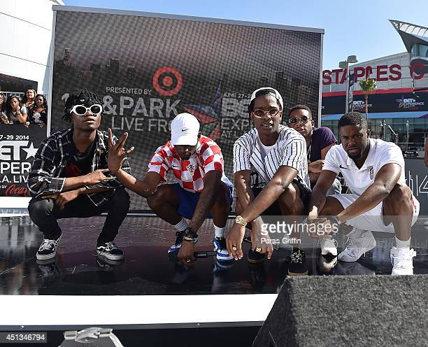 Mob attends 106 Park Live during the 2014 BET Experience At LA LIVE on June 27 2014 in Los Angeles California