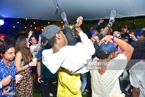 Mob attends A$AP Worldwide Cozy Clubhouse at The Surf Lodge Bungalow on December 2 2016 in Miami Beach FL