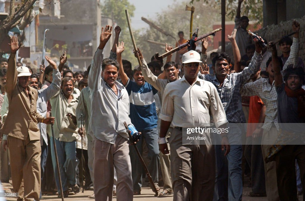 Hindu-Muslim Violence Rips Through Western India : News Photo
