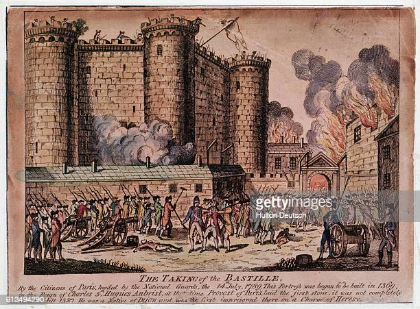 A mob of revolutionaries storm the Bastille prison in order to free its prisoners This was the watershed event of the French Revolution and its...