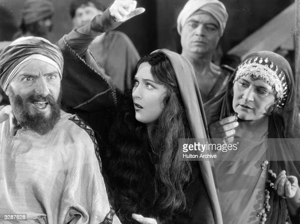 A mob scene from the biblical epic 'King of Kings' which tells the story of life of Jesus as seen through the eyes of Mary Magdalene