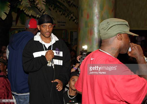 Mobb Deep during Alchemist Album Realease Party and Concert September 22 2004 at SOB in New York City New York United States