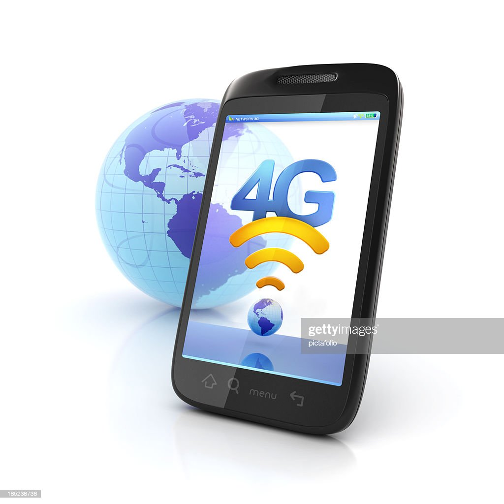 Mobile 4g Network Connection Stock Photo - Getty Images