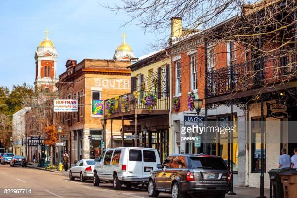 Mobile, Alabama - historic downtown