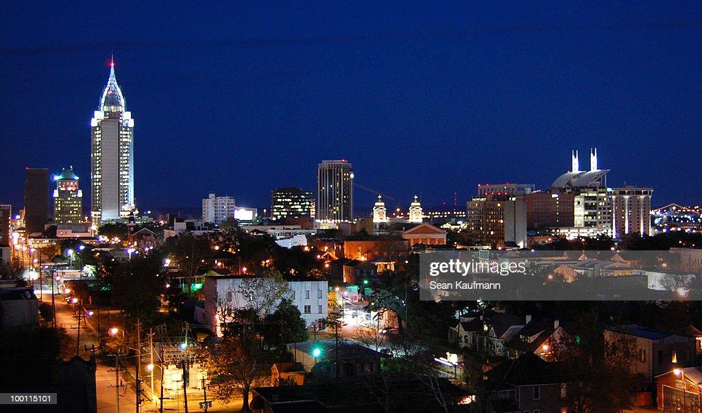Mobile Alabama : Stock-Foto