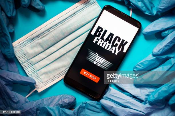 mobile application for online shopping black friday - black friday stock pictures, royalty-free photos & images