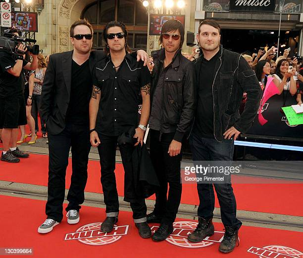 fe23713a5782 Mobile arrive on the red carpet of the 20th Annual MuchMusic Video Awards  at the MuchMusic