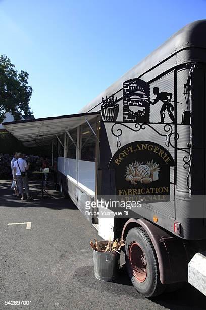 Mobile bakery truck