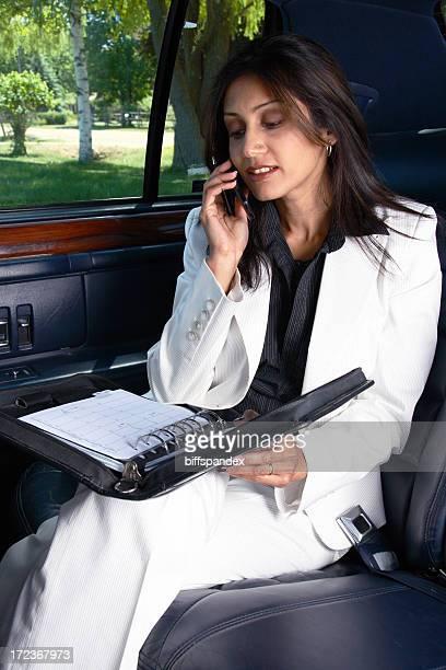 Mobile Femme d'affaires