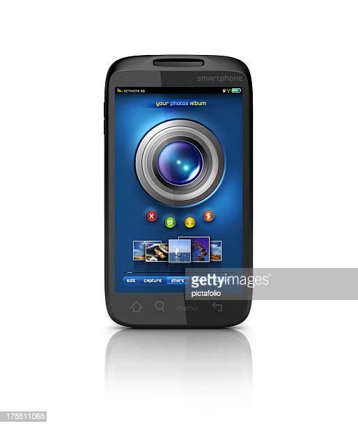 Handy-Kamera und Foto-album teilen