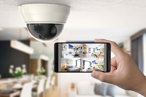 mobile connect with security camera 871704344