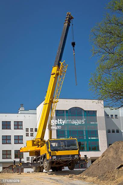 Mobile Crane Pictures : Mobile crane stock photos and pictures getty images