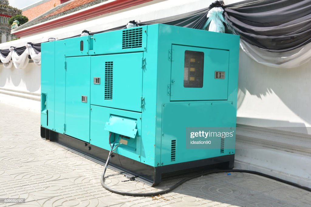 Image result for Diesel Power Generator.  istock