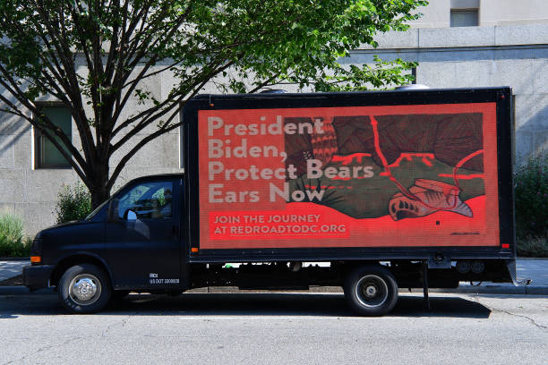 DC: Indigenous Activists Ramp Up Pressure On President Biden Over Lack Of Action To Restore Bears Ears National Monument